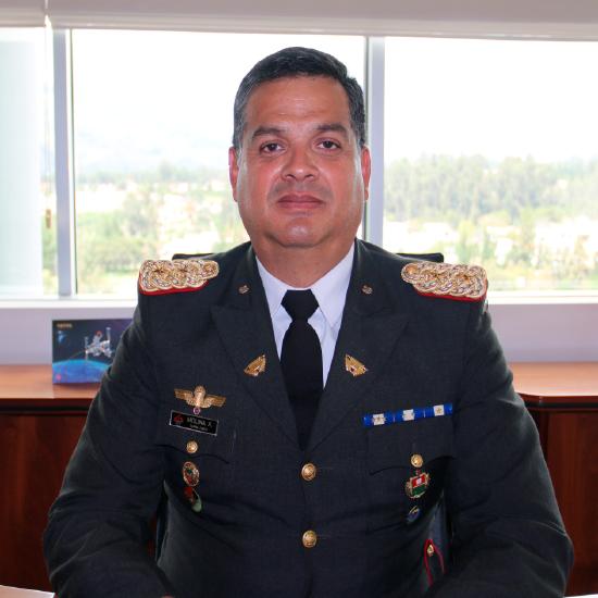 Xavier Molina Vicerrector de Investigación ESPE