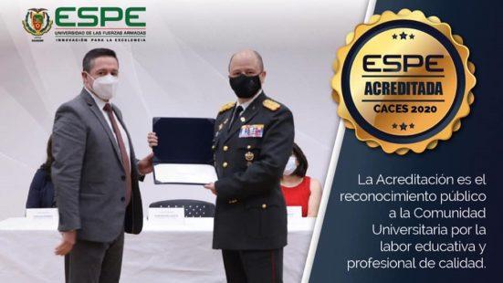 ESPE recibe Acreditación