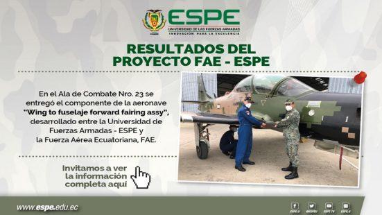 Resultados Proyecto FAE-ESPE