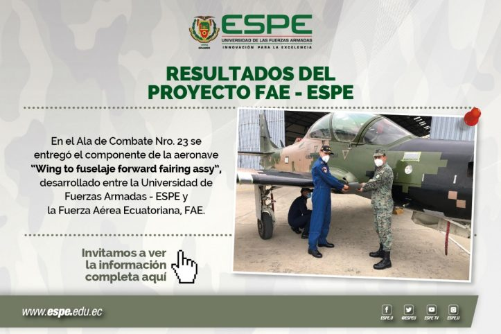 Resultados del Proyecto FAE-ESPE